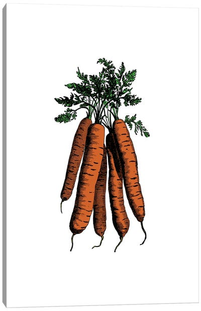 Carrot Canvas Art Print