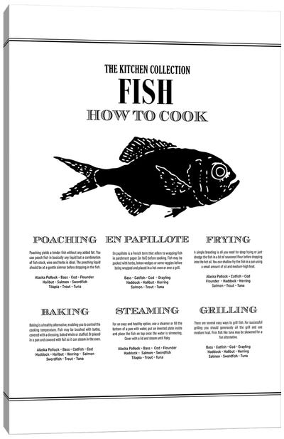 Fish | How To Cook Canvas Art Print
