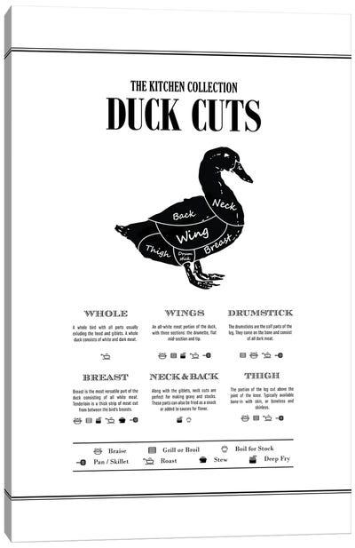 Duck Cuts Canvas Art Print