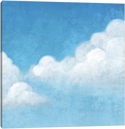 Cloudy II Canvas Art Print