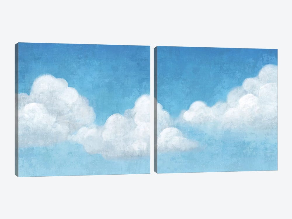 Cloudy Diptych by Andrea Ciullini 2-piece Canvas Art