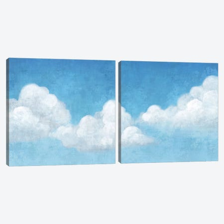 Cloudy Diptych Canvas Print Set #ACI2HSET001} by Andrea Ciullini Canvas Print