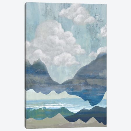 Cloudy Mountains I Canvas Print #ACI3} by Andrea Ciullini Canvas Wall Art