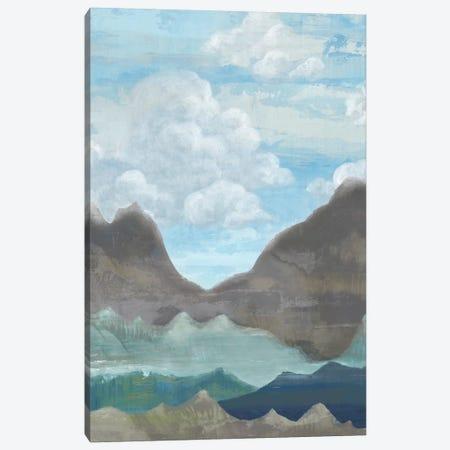 Cloudy Mountains II Canvas Print #ACI4} by Andrea Ciullini Canvas Art Print