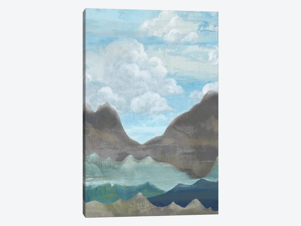 Cloudy Mountains II by Andrea Ciullini 1-piece Canvas Art