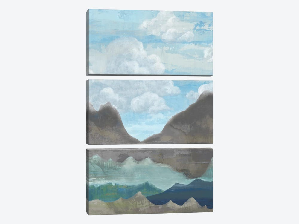 Cloudy Mountains II by Andrea Ciullini 3-piece Canvas Wall Art
