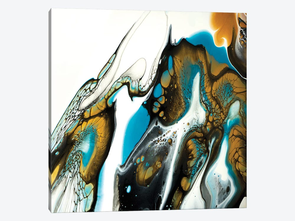 Reef Triptych I by Brigitte Ackland 1-piece Canvas Wall Art