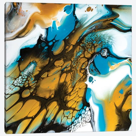 Reef Triptych II Canvas Print #ACK106} by Brigitte Ackland Art Print