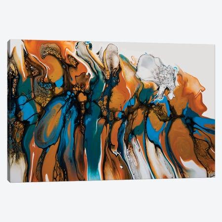 White Orchid Canvas Print #ACK112} by Brigitte Ackland Art Print