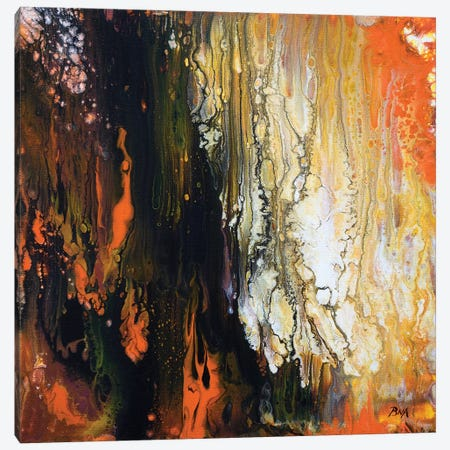 Burning Embers Canvas Print #ACK114} by Brigitte Ackland Canvas Wall Art