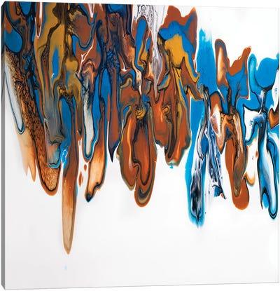 Outback Symphony Diptych Panel 1 Canvas Art Print