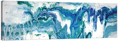 Abstract Water Canvas Art Print
