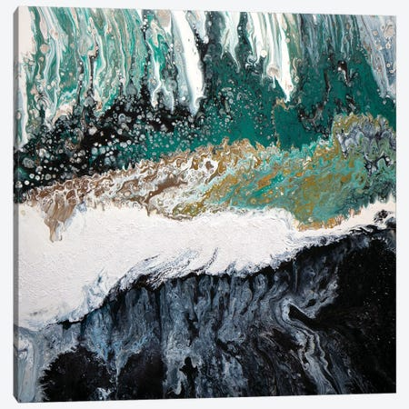 Abstract Waterfall I Canvas Print #ACK12} by Brigitte Ackland Canvas Art Print