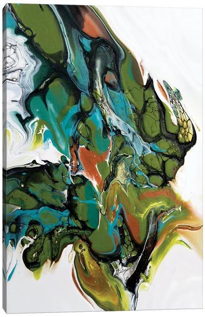 Whimsical Triptych Panel III Canvas Art Print