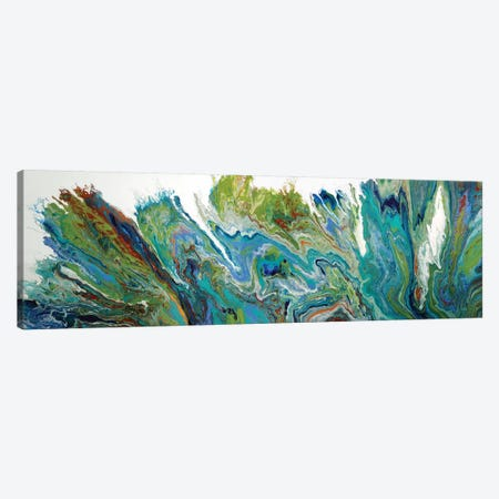 The Reef II Canvas Print #ACK137} by Brigitte Ackland Canvas Art