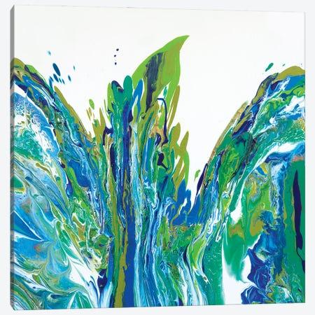 Bird Of Paradise Canvas Print #ACK140} by Brigitte Ackland Canvas Artwork