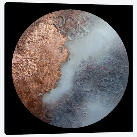Burnished Moon Canvas Print #ACK143} by Brigitte Ackland Canvas Wall Art