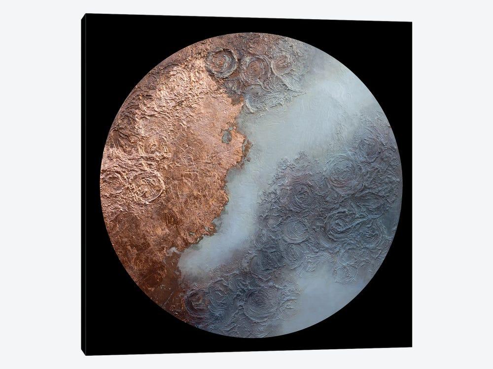 Burnished Moon by Brigitte Ackland 1-piece Canvas Art