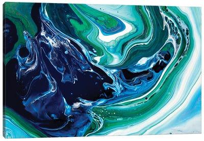 Blue Oasis Canvas Art Print