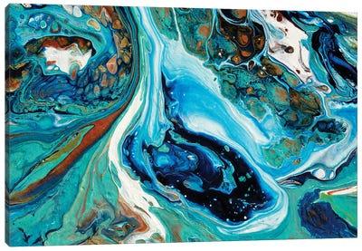 Coral Isle #1 Canvas Art Print