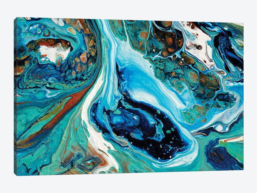Coral Isle #1 by Brigitte Ackland 1-piece Canvas Art