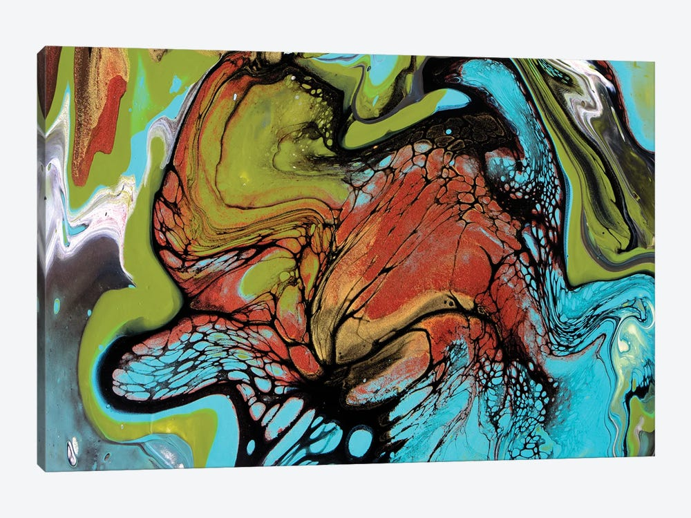 Tropical Spin #1 by Brigitte Ackland 1-piece Art Print