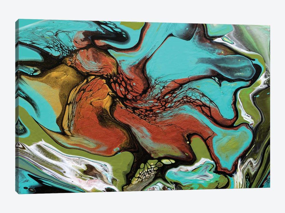 Tropical Spin II by Brigitte Ackland 1-piece Canvas Artwork