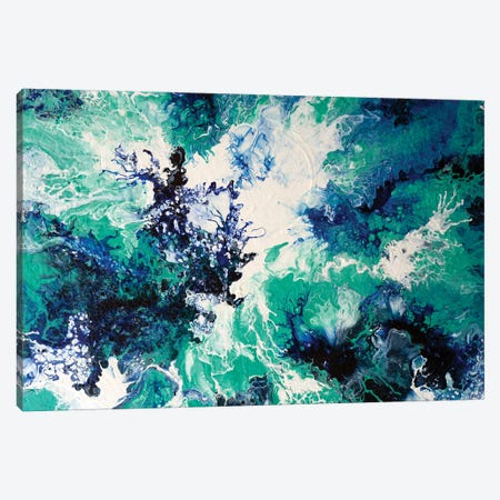 Ocean Wash I Canvas Print #ACK150} by Brigitte Ackland Canvas Print