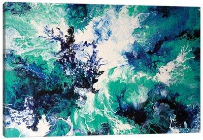 Ocean Wash I Canvas Art Print