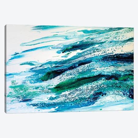 Oceans Lace Canvas Print #ACK152} by Brigitte Ackland Art Print