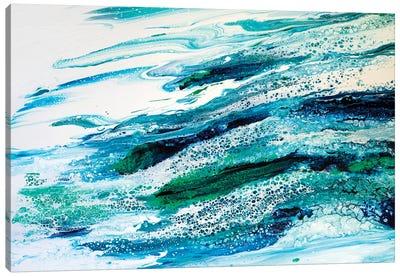 Oceans Lace Canvas Art Print