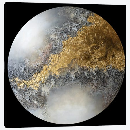 Golden Eclipse II Canvas Print #ACK153} by Brigitte Ackland Canvas Art Print
