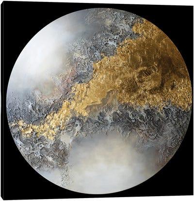 Golden Eclipse II Canvas Art Print