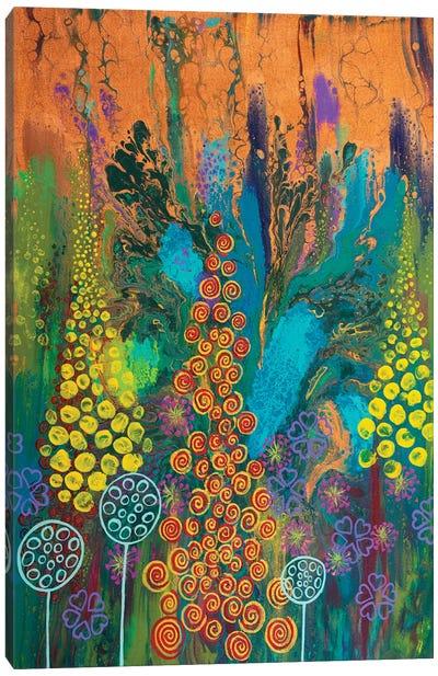 Carnival Of Colour Canvas Art Print