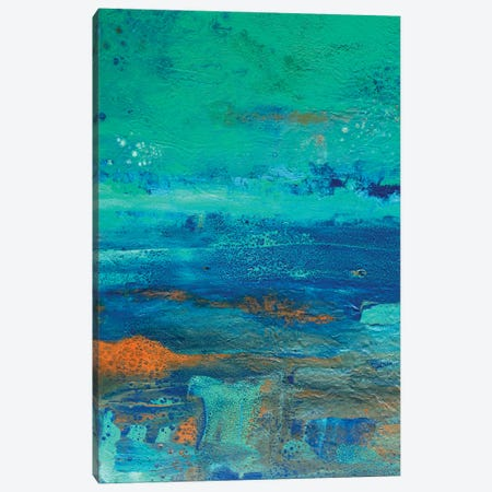 Jade Coloured Sky Canvas Print #ACK158} by Brigitte Ackland Canvas Print