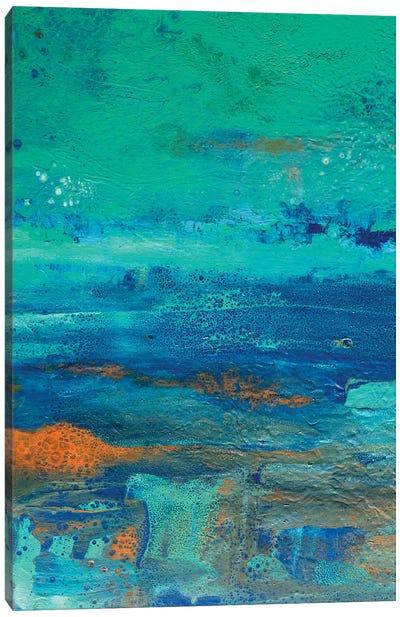 Jade Coloured Sky Canvas Art Print