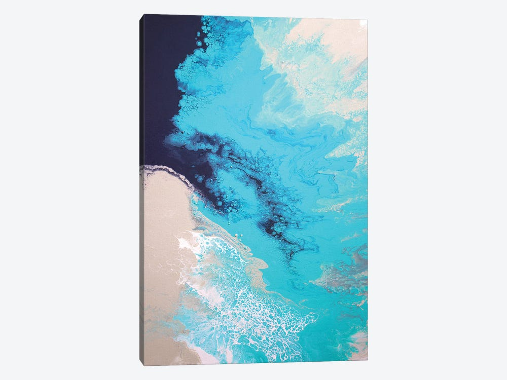 Ocean Splash by Brigitte Ackland 1-piece Canvas Artwork