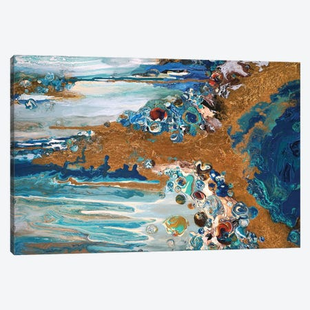 Ocean's Treasure II Canvas Print #ACK167} by Brigitte Ackland Canvas Art Print