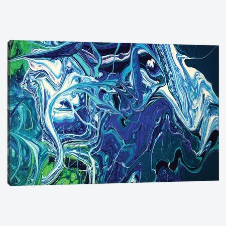 Entangled V Canvas Print #ACK175} by Brigitte Ackland Canvas Wall Art