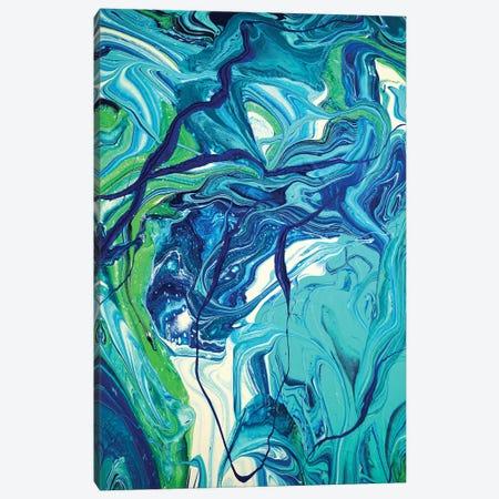 Entangled VI Canvas Print #ACK176} by Brigitte Ackland Canvas Art