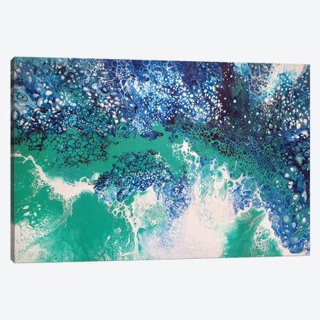 Seaspray II Canvas Print #ACK183} by Brigitte Ackland Canvas Wall Art