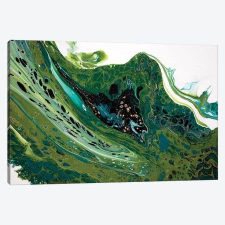 Boho Leaf Canvas Print #ACK24} by Brigitte Ackland Canvas Print