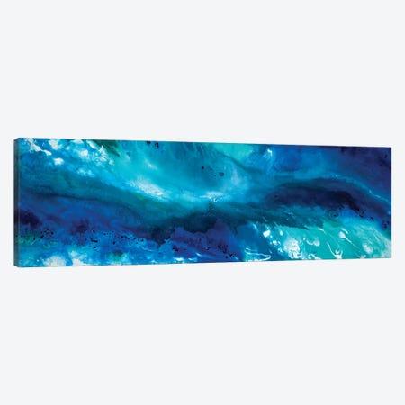 Coastal Waters Canvas Print #ACK27} by Brigitte Ackland Canvas Print