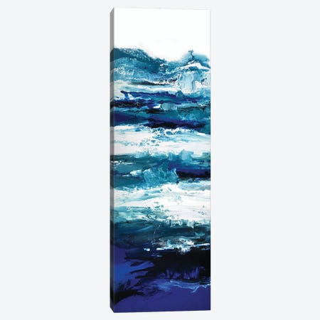 Deep Blue Waters Canvas Print #ACK32} by Brigitte Ackland Canvas Art Print