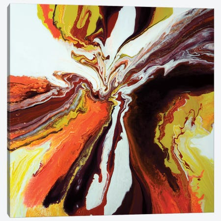 Flight Of The Monarch Canvas Print #ACK36} by Brigitte Ackland Canvas Artwork