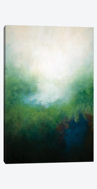 Misty Morning Canvas Print #ACK46} by Brigitte Ackland Canvas Art Print