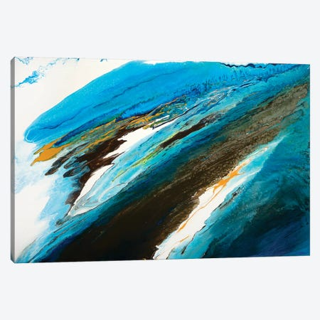 Movement Of The Sea I Canvas Print #ACK49} by Brigitte Ackland Canvas Art