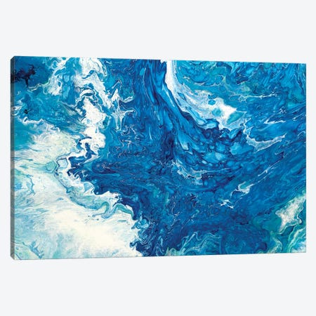 Ocean Waves I Canvas Print #ACK52} by Brigitte Ackland Art Print