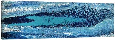 Primordial Blue Canvas Art Print