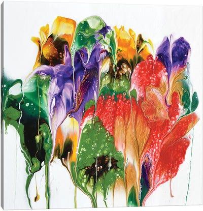 Summer Bouquet Canvas Art Print